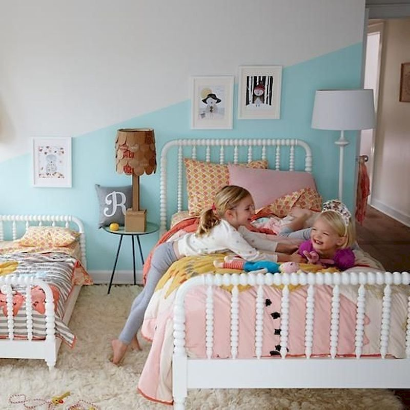53 Twin Bed Design Ideas That Make Your Twin Baby Cozy images