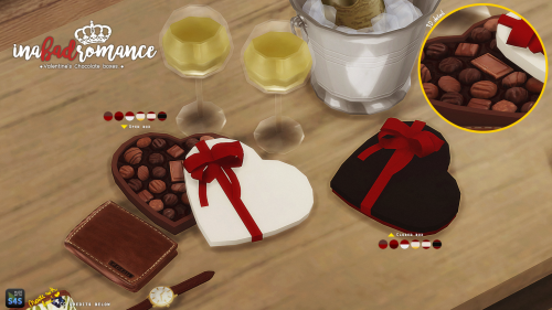 Inabadromance Happy Valentine S Chocolate Gift Boxes Made With The Sims 4 Studio Better Late Than Nev Chocolate Gift Boxes Sims Sims 4 Custom Content