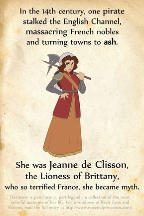 Jeanne de Clisson: The Lioness of Brittany #history