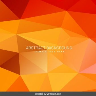 Orange geometrical background