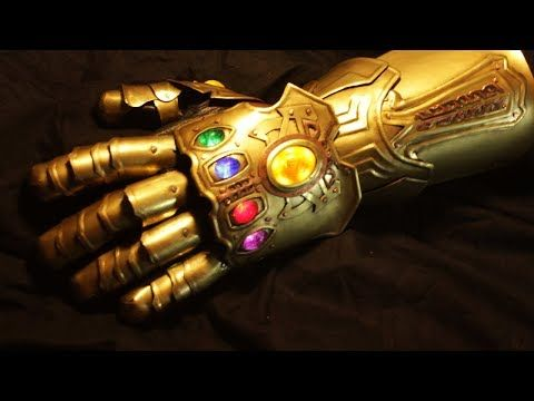make your own infinity gauntlet replica avengers infinity war