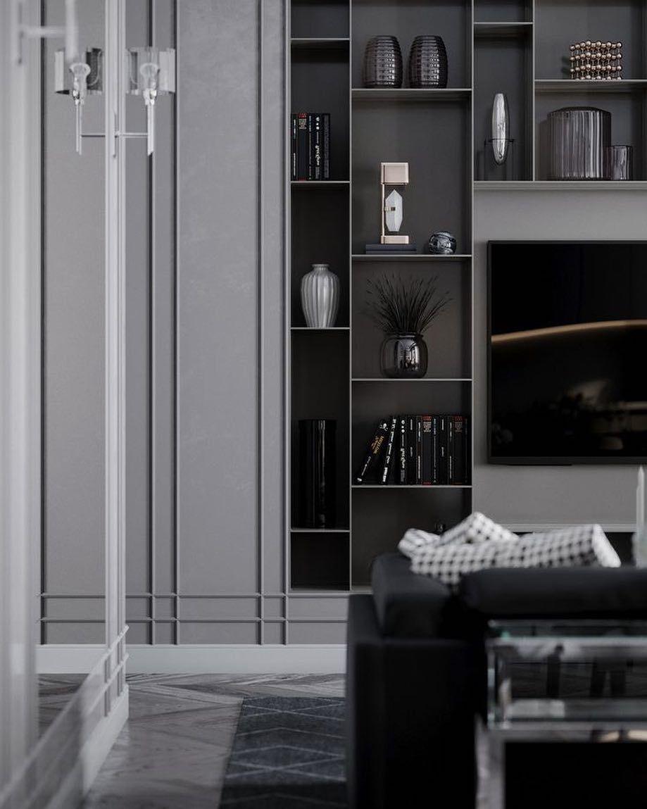 living room cabinets built in modern images
