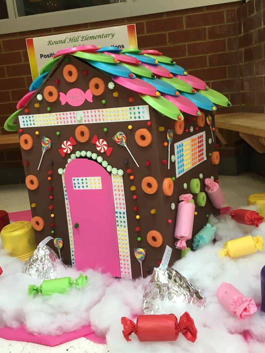 Cardboard Gingerbread House Cardboard Gingerbread House Gingerbread House Candyland