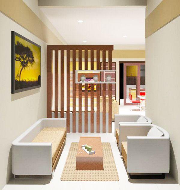 10 kumpulan desain ruang tamu minimalis 3 terbaru 2017