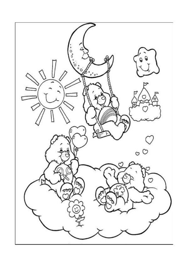 Dibujos para Colorear Osos amorosos 7 | Dibujos para colorear para ...