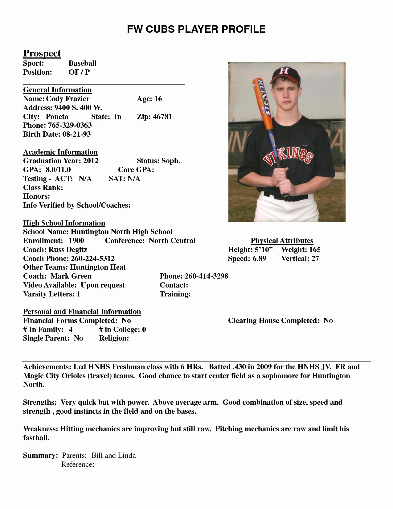 Student athlete Resume Template Beautiful Best S Of