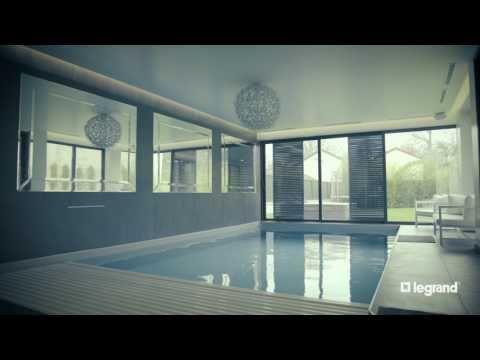 Une installation automatisé et pilotable à distance | Legrand #confort #piscine #maison #inspiration #domotique #homesmarthome