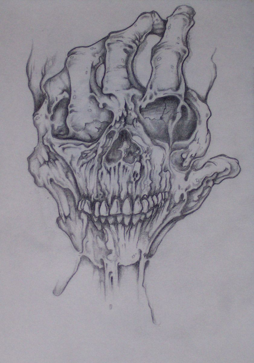 Evil Skull Art - Bing Images | Skulls and Bones Art ...