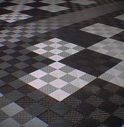 Coin Grid Loc Garage Tiles U2013 Modular Floor Covering