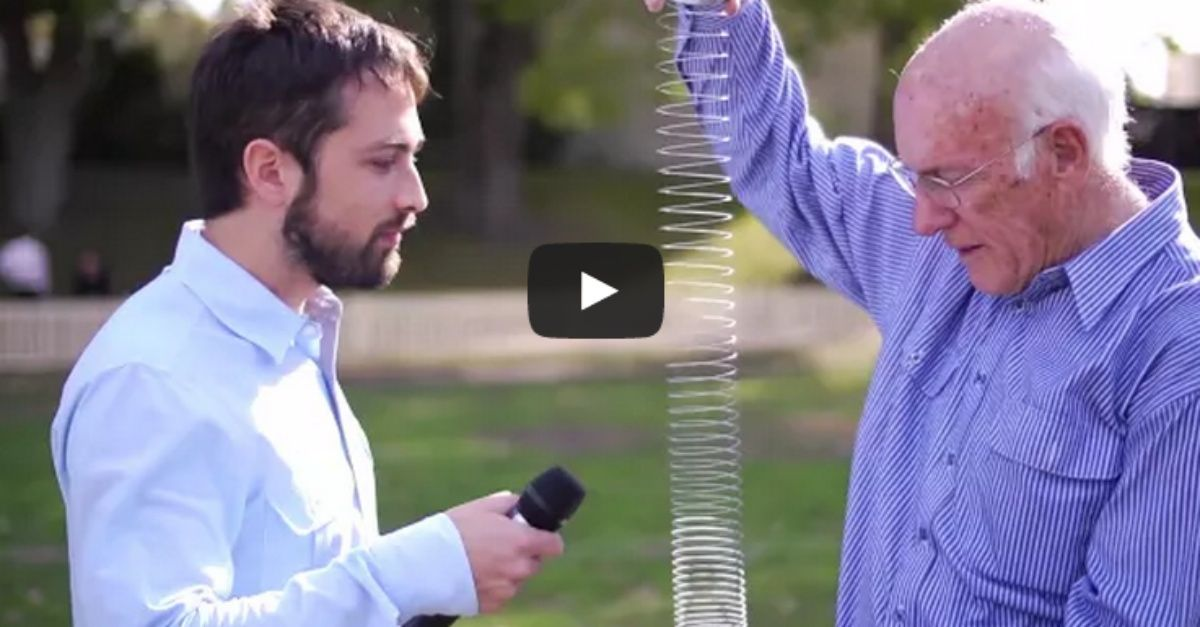 A Slinky, 2 Scientists, And A Slow-Motion Camera Are Going To Show You Something You Won't Believe Is Possible - http://localmarketingreport.net/a-slinky-2-scientists-and-a-slow-motion-camera-are-going-to-show-you-something-you-wont-believe-is-possible/