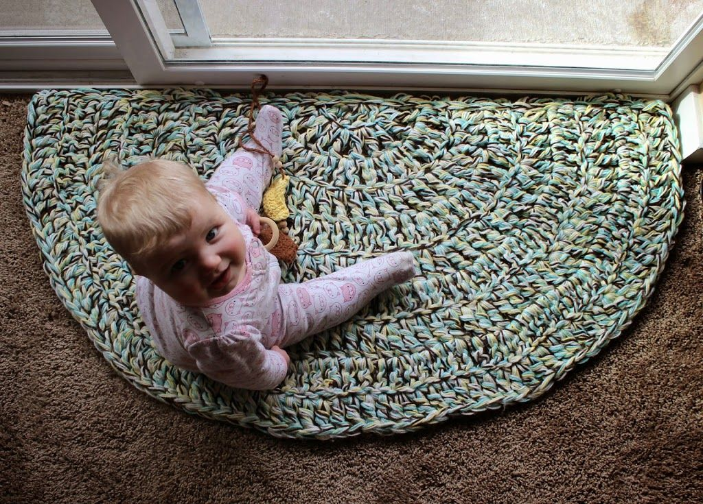 I Might Try This With Rope To Make A More Sy Entryway Rug Mat Quick