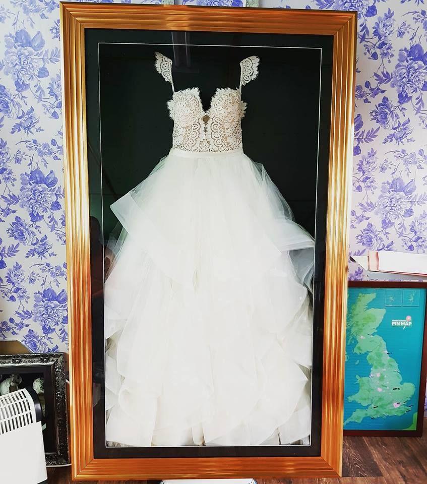 Framed Wedding Dress. Large. Framed Collage Of Antique Indian ...