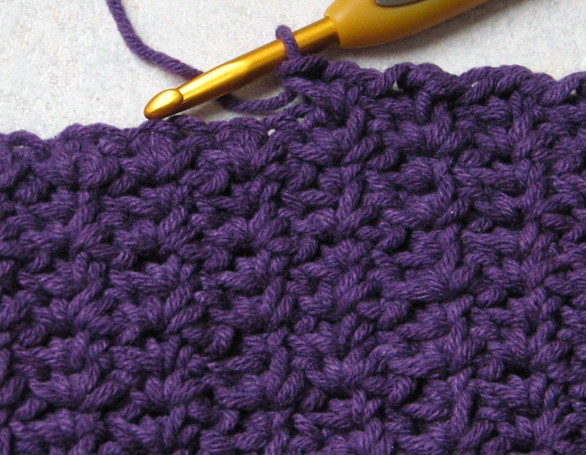 Crochet Spider Stitch - Tutorial