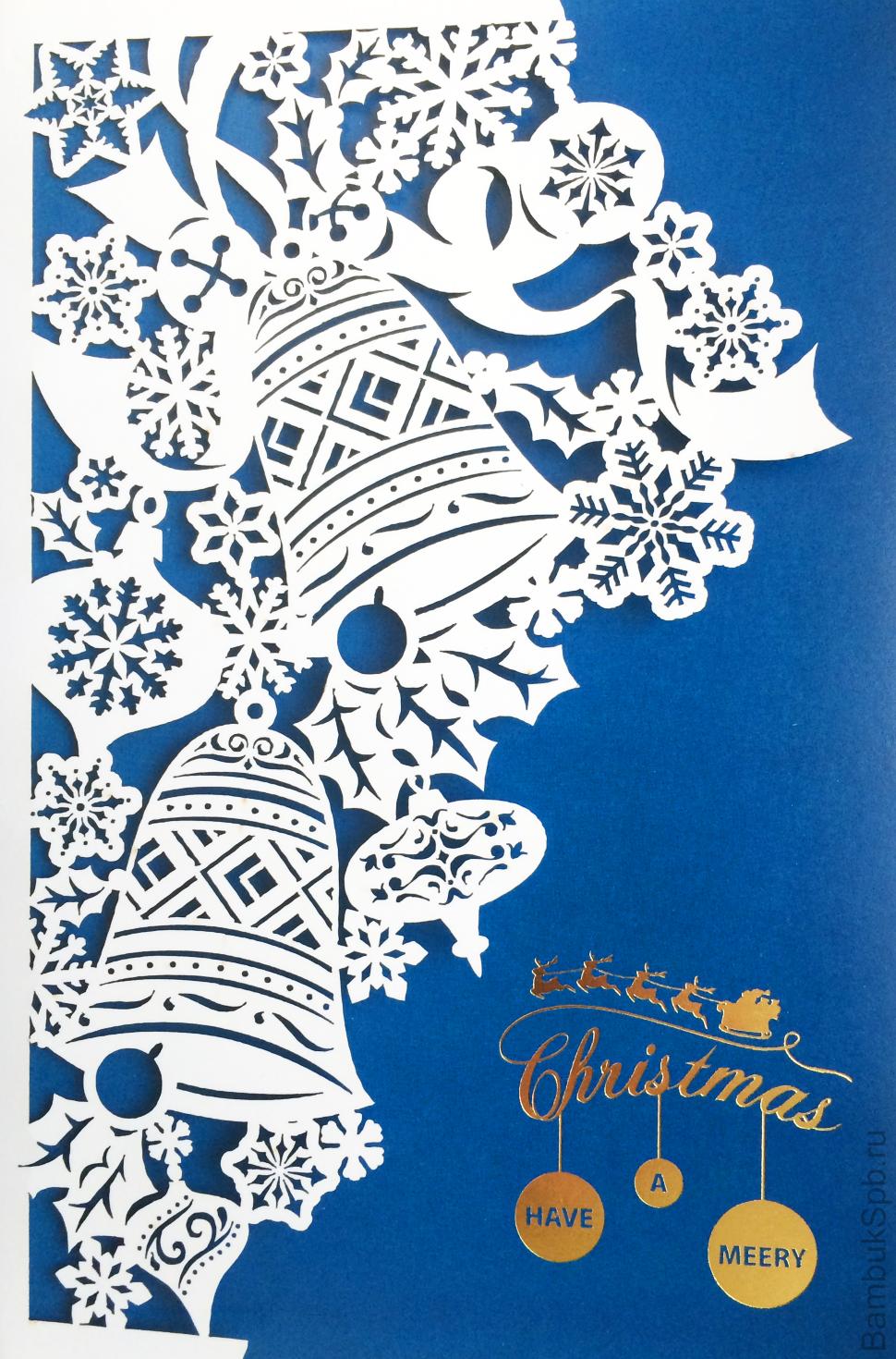 Вытынанки открытки новый год