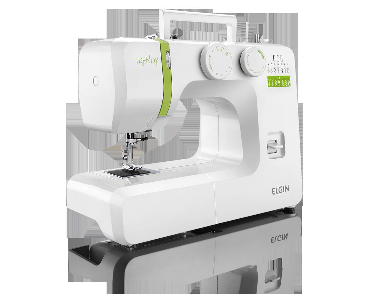 Detalhes:  Máquina de Costura Trendy JX 3013 - Elgin