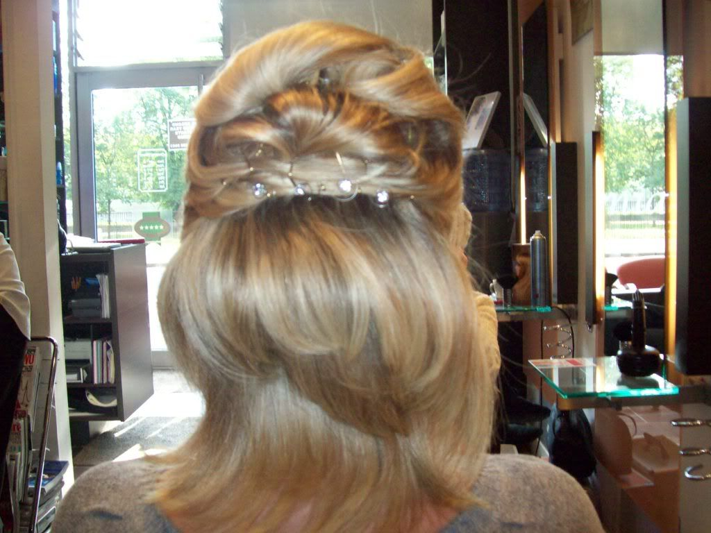 Half-Up Prom Hairstyles