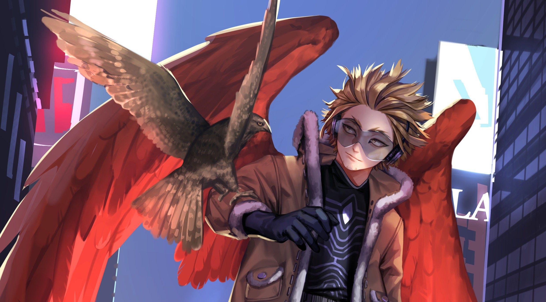 Hawks Byeolmu Hero My Hero Academia Boku No Hero Academia