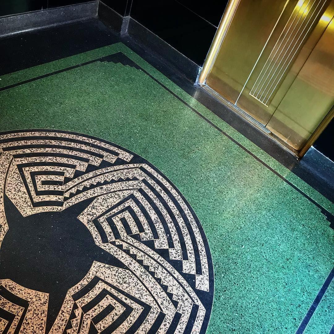 Terrazzo Floor Inside Hoover Dam Terrazzo Terrazzo