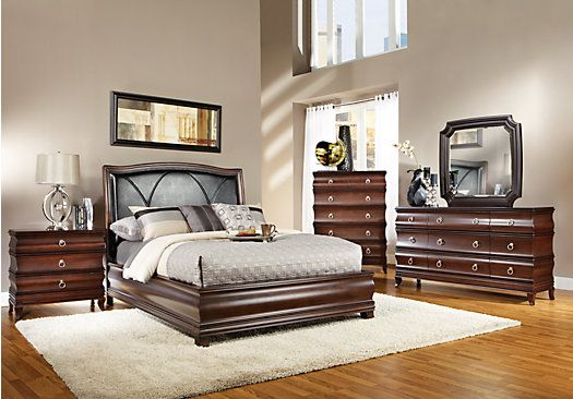 Shop for a Alexi 5 Pc Queen Bedroom at Rooms To Go. Find Queen ...