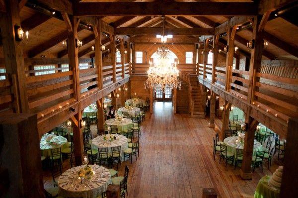 Real Weddings Stephanie Richard Country Barn Weddingsrustic Wedding Venueswedding