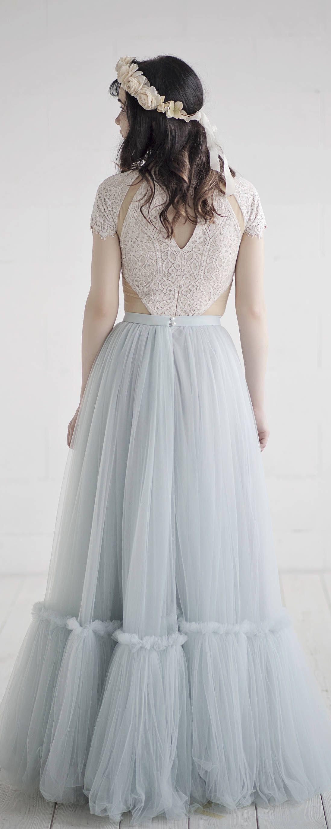 Dolores bohemian wedding dress boho bridal gown rustic wedding