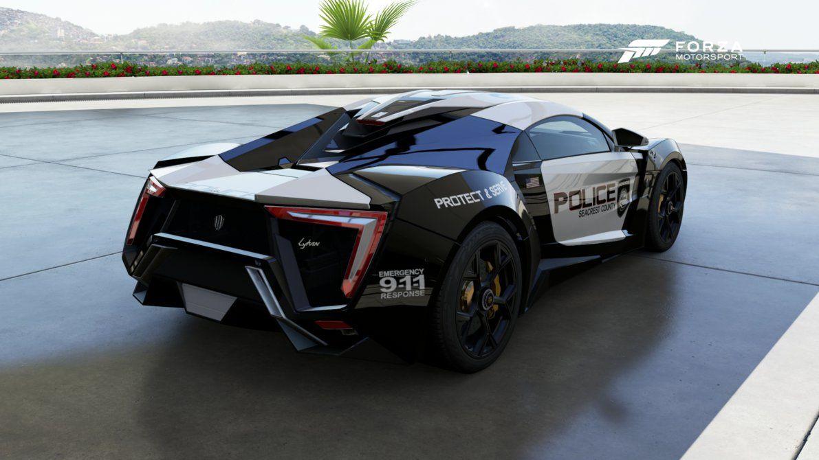Lykan Hyper Sport Car Cop Police Cars Super Cars