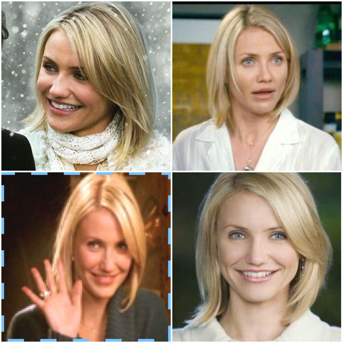 Cameron Diaz Mid Length Hair Style The Holiday Cameron Diaz Short Hair Cameron Diaz Hair Hair Styles
