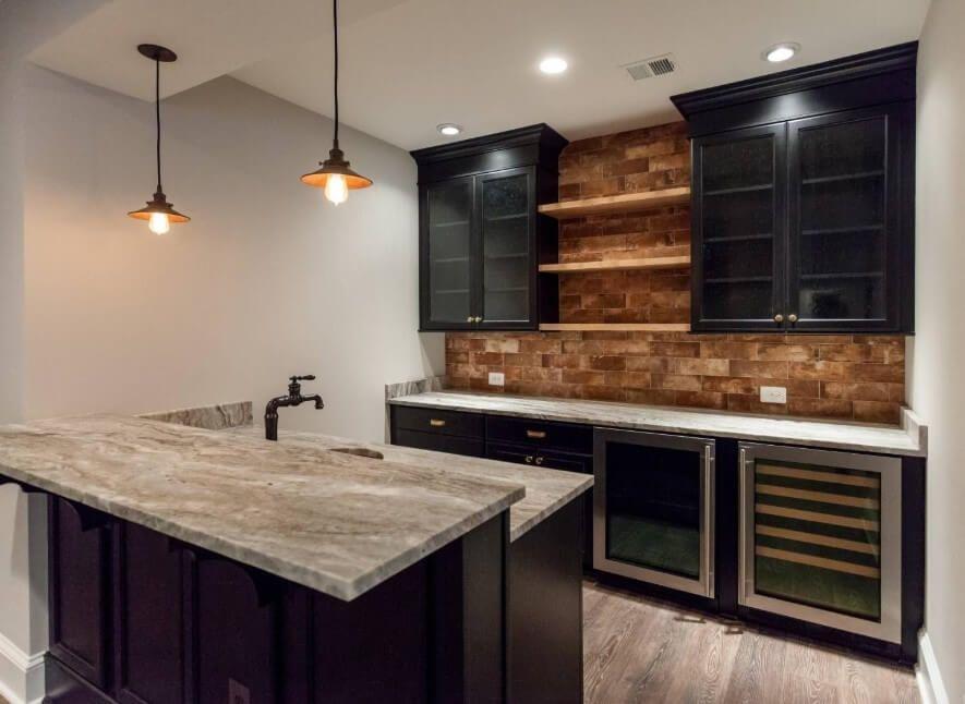 10 Rustic Kitchen Cabinet Ideas 2020 For Fabulous Kitchen Look Avantela Home Rustic Kitchen Cabinets Basement Bar Designs Basement Bar Plans