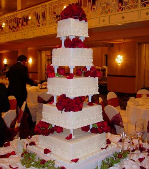 Giant Wedding Cake Huge Wedding Cakes Pink Wedding Cake Cool Wedding Cakes