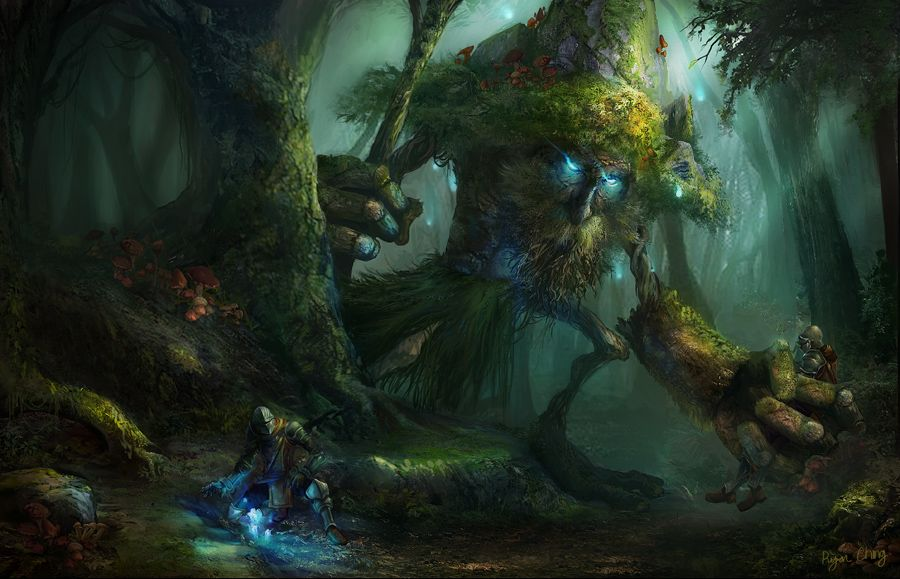Forest Guardian By Showmeyourmoves On Deviantart Fantasy