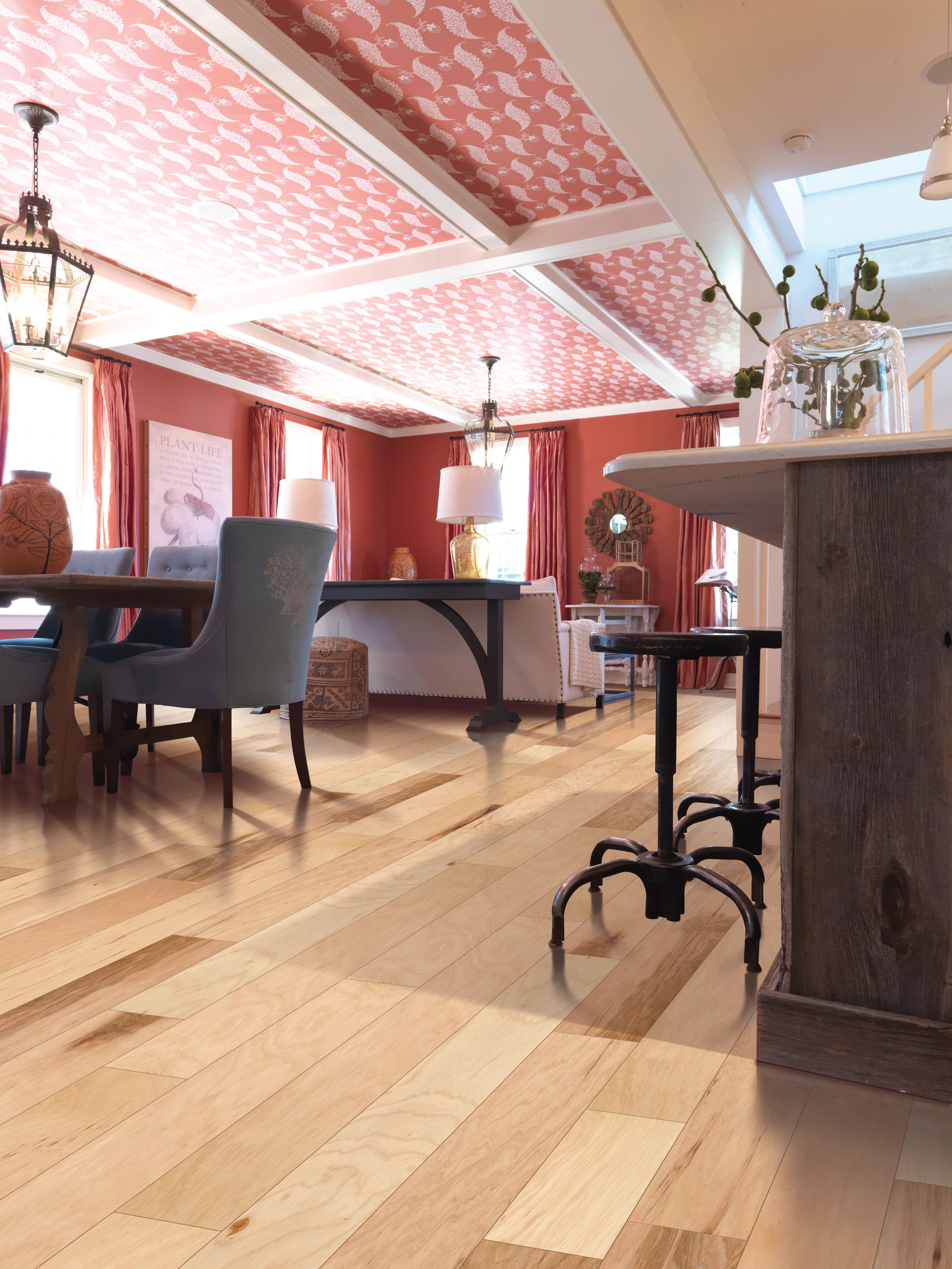 Be inspired by this hardwood floor by Mohawk. Dive into