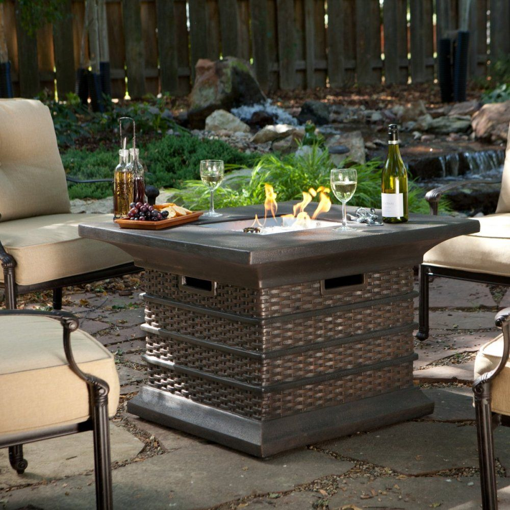 """Photo of Rustic Outdoor Firepit Table — Zeru Table Ideas from """"Keeping a Metal Outdoor …"""