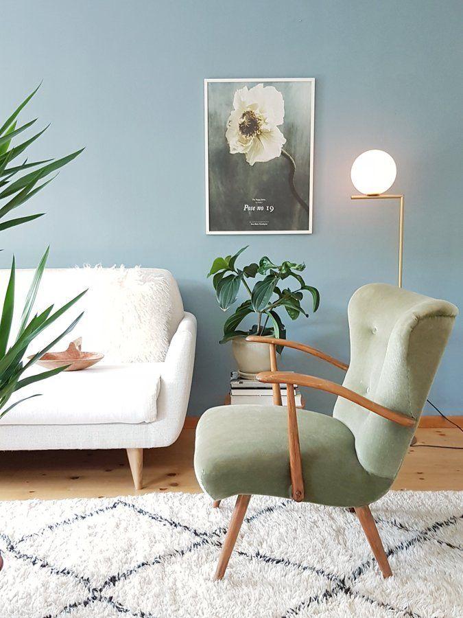 Wohnzimmerinspiration SoLebIchde Foto filomena #solebich - wohnzimmer blau holz