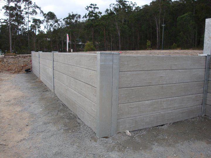 Concrete Sleeper Retaining Walls Australian Retaining Walls Concrete Sleeper Retaining Walls Concrete Sleepers Sleeper Retaining Wall