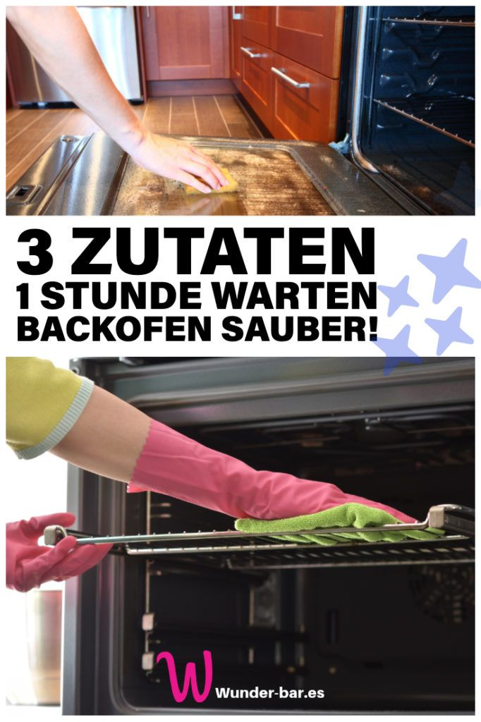 Gratis Tipp Sauberer Backofen Backofen Reinigen Backofen