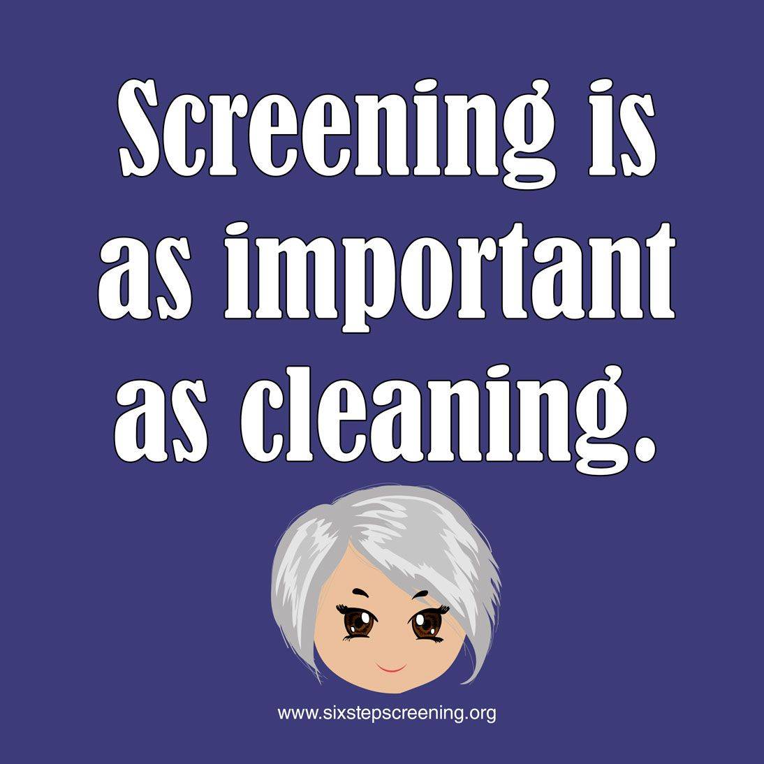 My friend called to tell me she is getting a cleaning
