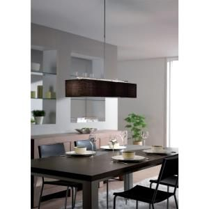 philips adrio 4-light nickel pendant lamp-366711748 at the home