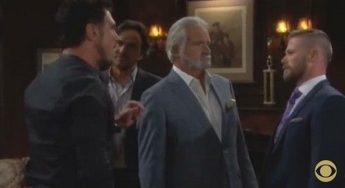 """""""The Bold and the Beautiful"""" spoilers for Thursday, June 4, tease that Wyatt (Darin Brooks) will express his outrage over Bill's (Don Diamont) preferential"""