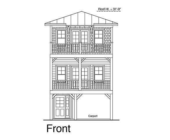 Coastal Home Plans - Broadwater Beach 1368 Exuma house ideas