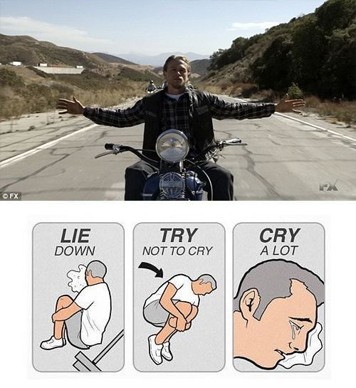 Sons of anarchy final ride / The final ride / Sons Of Anarchy - Jax's Final Ride