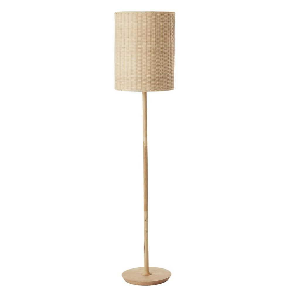 Albany Rattan Floor Lamp Natural 灯具 In 2019 Rattan Floor