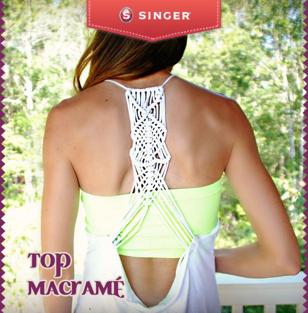 Top #macrame #moda #reparacion #yolohice #Singer – Singer México