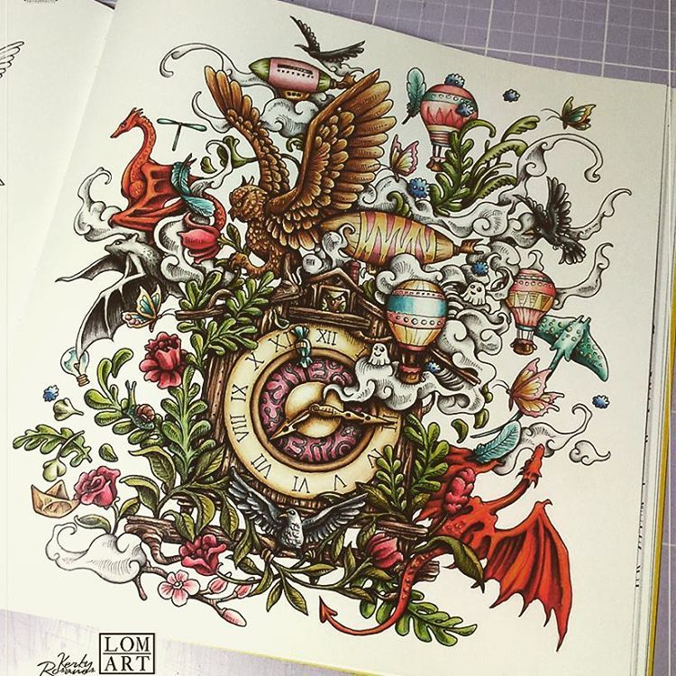 Anatomy Coloring Book Whsmith : Imagimorphia inktense pencils my coloring pinterest