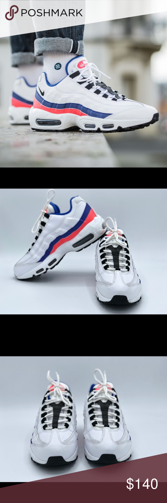 a2a4ba487d03 Nike Air Max 95 Essential Men s Shoes These are almost new Nike Air Max 95  Essential Men s Shoes No Box. All the pictures are of real shoe pictures  except ...