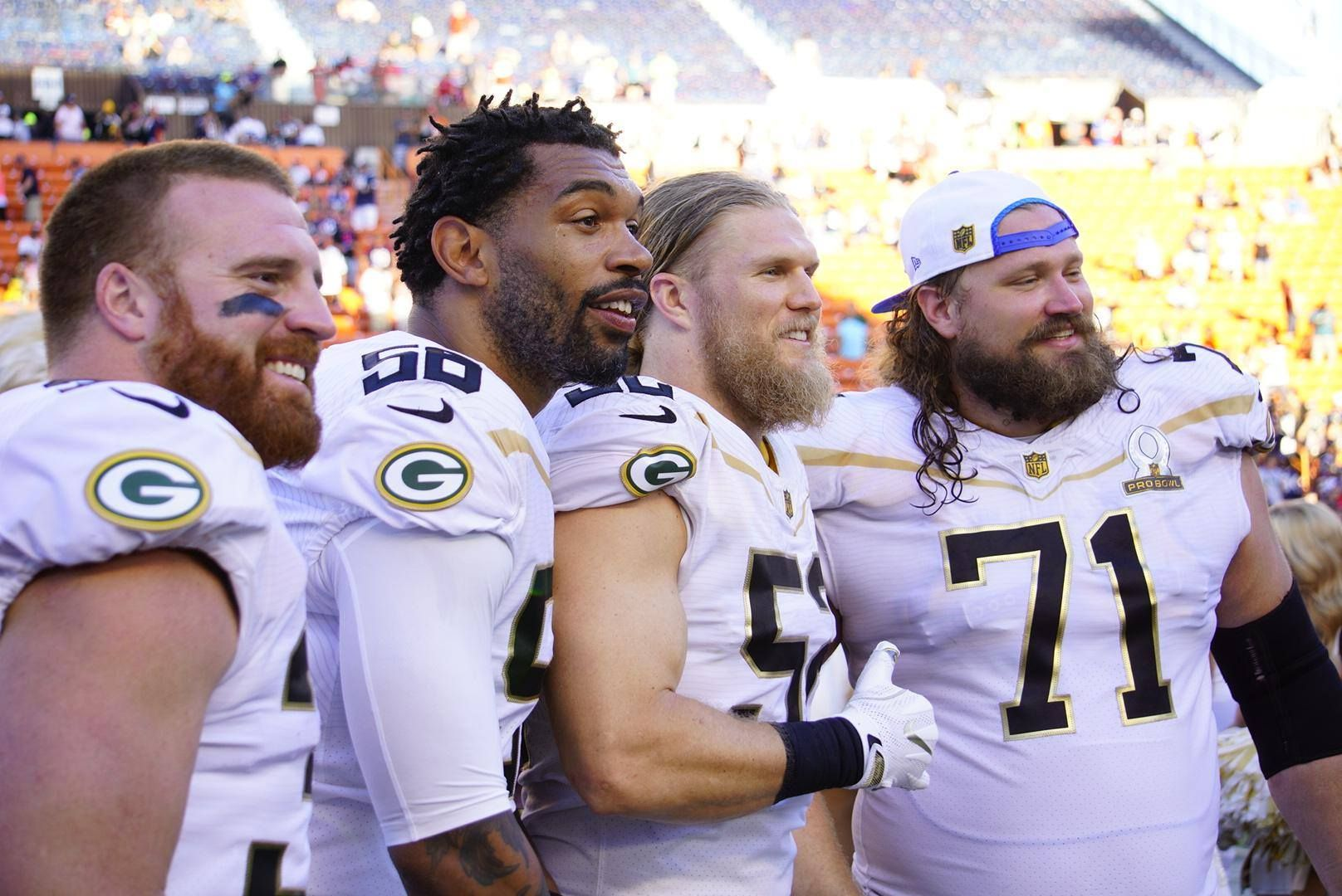 Packers at Pro Bowl 2016