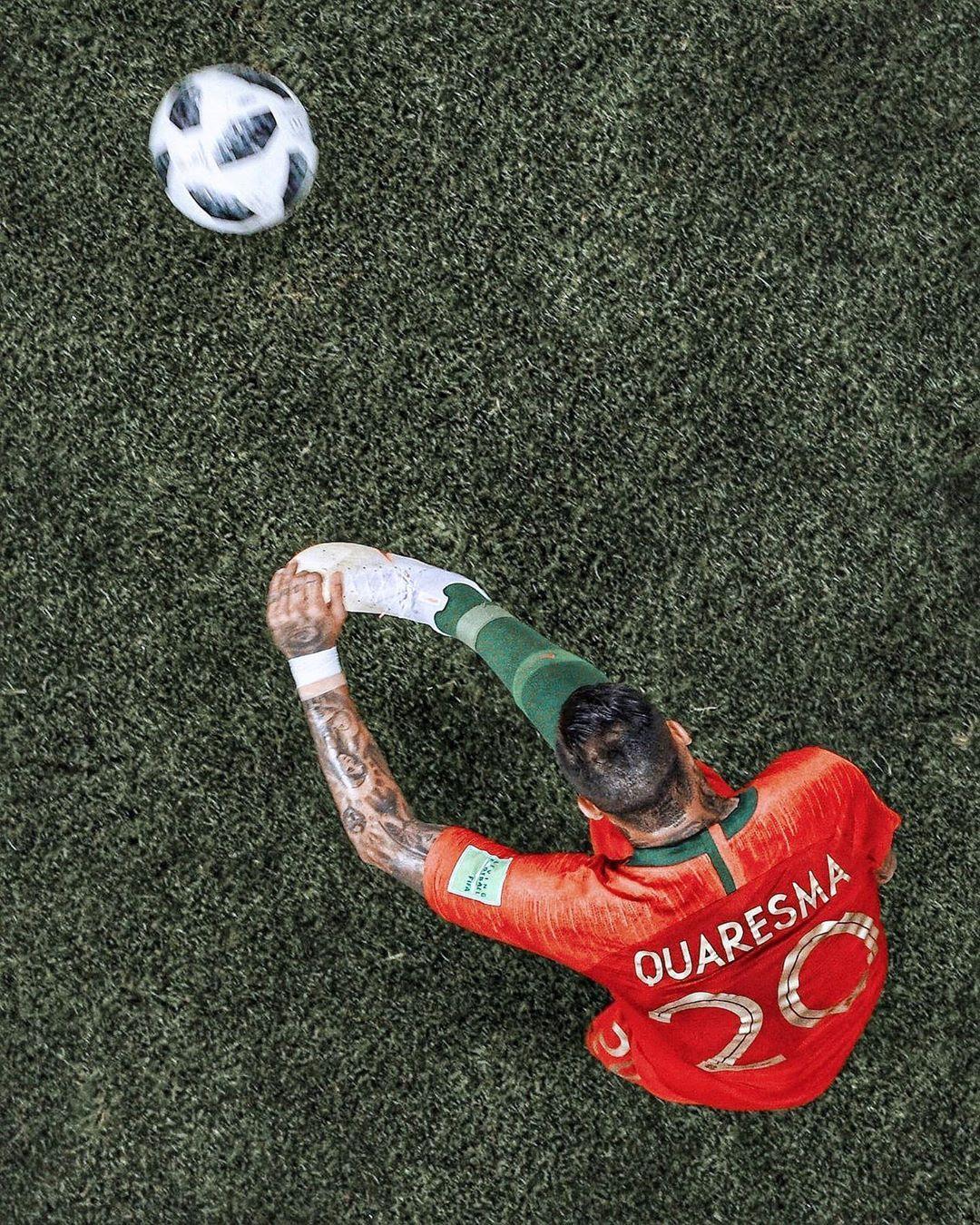 Soccer Football On Instagram Siri Define The Word Trivela Ricardo Quaresma Quaresma Ronaldo Football Manchester United Wallpaper Football