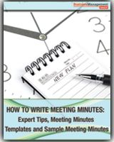 How To Write Meeting Minutes Expert Tips Meeting Minutes