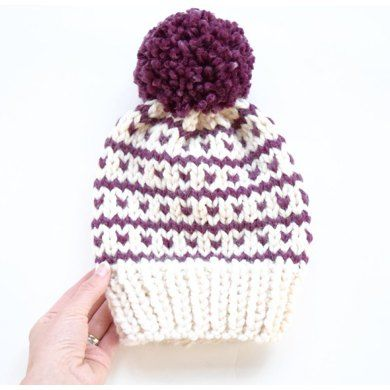 Breckenridge Fair Isle Hat | Fair isles, Knitting patterns and ...