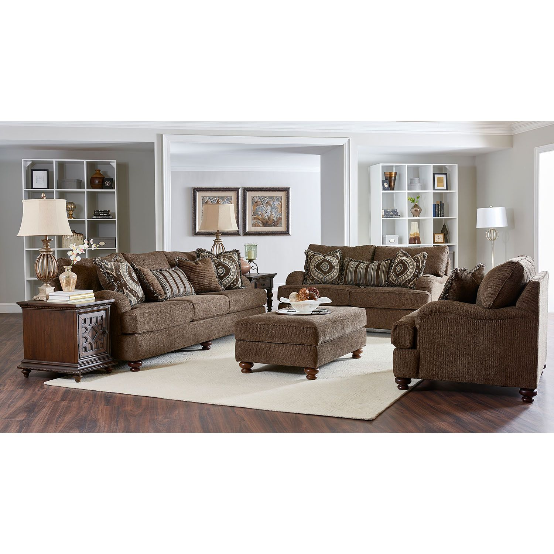 Klaussner Dana Collection Assorted Sets Sam S Club Nailhead Living Room Living Room Sets Leather Living Room Set #sams #living #room #furniture