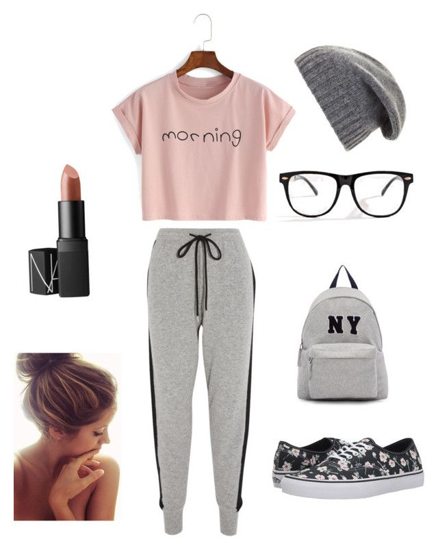 """""""Lazy"""" by lunakiwi on Polyvore featuring Markus Lupfer, BCBGMAXAZRIA, NARS Cosmetics, Vans and Joshua's"""